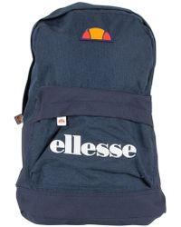 Ellesse - Navy/navy Marl Regent Ii Logo Backpack - Lyst
