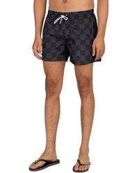 Kappa Authentic Pop Ezira Swim Shorts - Black