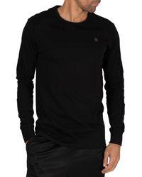 G-Star RAW Sipphon Motac Longsleeved T-shirt - Black