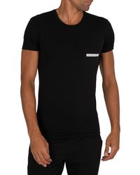 Emporio Armani Lounge Crew T-shirt - Black