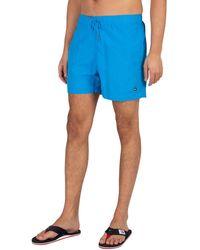 Tommy Hilfiger Medium Drawstring Slim Swim Shorts - Blue