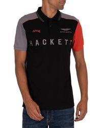 Hackett Amr Polo Shirt - Black