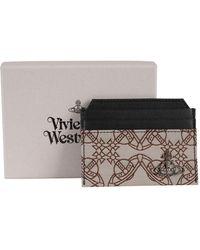 Vivienne Westwood Orbmania Slim Card Holder - Multicolour