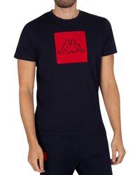 Kappa Ibagni Slim T-shirt - Blue