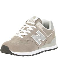 New Balance 574 Classic Running Shoes - Grey