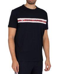 Tommy Hilfiger Lounge Branded T-shirt - Black