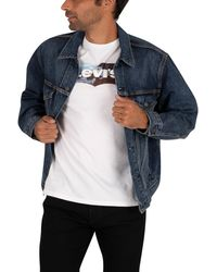Levi's Vintage Fit Roamer Trucker Jacket - Blue