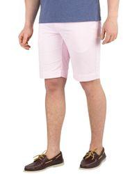 Hackett Men's Core Kensington Slim Chino Shorts, Pink Men's Shorts In Pink