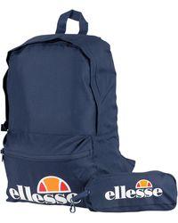 Ellesse Rolby Backpack & Pencil Case - Blue