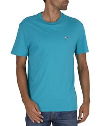 Tommy Hilfiger Classic Logo T-shirt - Blue