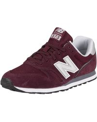 New Balance 373 Suede Trainers - Purple