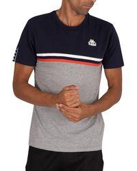 Kappa Ibis Slim T-shirt - Blue
