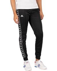 Kappa 222 Banda Rastoria Slim Sweatpants - Black