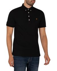Farah Ricky Polo Shirt - Black