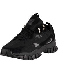 Fila Ray Tracer Trainers - Black
