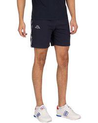 Kappa Logo Isapo Sweat Shorts - Blue