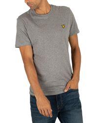 Lyle & Scott Logo T-shirt - Gray