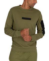 Religion Snatch Sweatshirt - Green