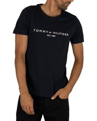 Tommy Hilfiger Logo T-shirt - Black