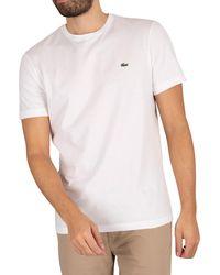 Lacoste Croc T-shirt - White
