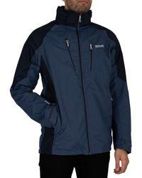 Regatta Calderdale Iv Waterproof Shell Jacket - Blue