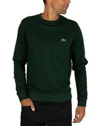 Lacoste Logo Sweatshirt - Green
