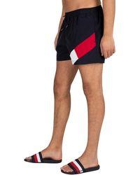 Vente événement Tommy Hilfiger Flag jambe SHORTS DE BAIN Breezy Bleu