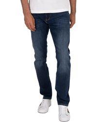 Tommy Jeans Men/'s Pants Scanton Mick Mid Blue Slim Fit Jeans Men ´S New