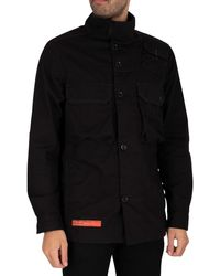 G-Star RAW Utility Straight Overshirt - Black