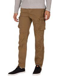 Schott Nyc Ranger 70 Cargo Pants - Natural