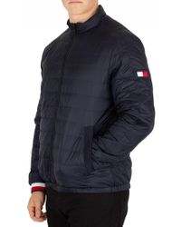 Tommy Hilfiger - Sky Captain Reversible Nylon Down Jacket - Lyst