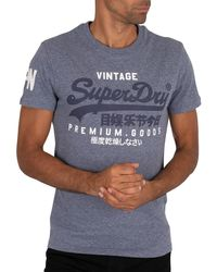 Superdry Graphic T-shirt - Blue