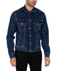 Pepe Jeans Pinner Denim Jacket - Blue