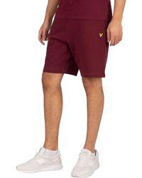 Lyle & Scott Sweat Shorts - Red