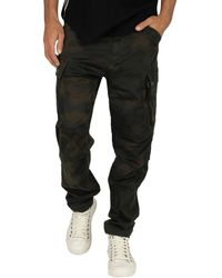G-Star RAW Roxic Straight Tapered Cargos - Black