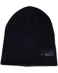 57041501b Downhill Navy/black Grit Orange Label Beanie - Blue