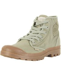 Palladium - Vetiver/mid Gum Us Pampa High Boots - Lyst