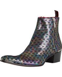 Jeffery West - Silver Geoda Leather Boots - Lyst