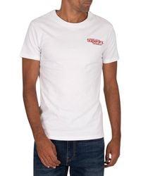 Superdry Athletics Micro T-shirt - White