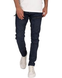 G-Star RAW Air Defence Zip Skinny Jeans - Blue