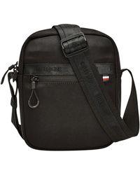 Tommy Hilfiger Urban Mini Reporter Bag - Black