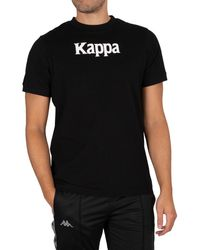 Kappa Banda Daffon T-shirt - Black