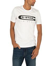 G-Star RAW Graphic Slim T-shirt - White
