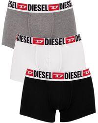 DIESEL 3 Pack Damien Trunks - Black