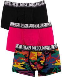 DIESEL 3 Pack Damien Trunks - Pink