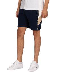 Lacoste Logo Sweat Shorts - Blue