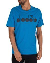 Diadora 5palle Offside T-shirt - Blue