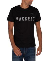 Hackett Amr T-shirt - Black