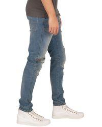 G-Star RAW 5620 3d Zip Knee Skinny Jeans - Blue