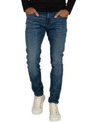 G-Star RAW 3301 Deconstructed Super Slim Jeans - Blue